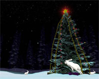 Free Christmas Tree 3D Screensaver 1.0
