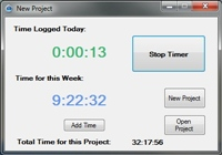 Freelance Time Logger 1.0