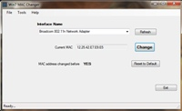 Win7 MAC Address Changer 1.9.1