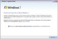 Windows 7 Upgrade Advisor 2.0.4000