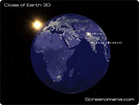 Cities of Earth 3D Screensaver v2.1