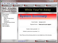 PC-Alarm and Security System 2.2.12