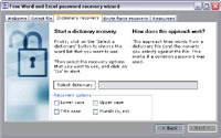 Free Word / Excel Password Recovery Wizard 1.0
