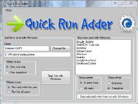 Quick Run Adder 1.0