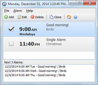 Free Alarm Clock Portable 2.7