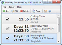 Free Countdown Timer Portable 2.7.1