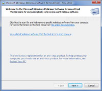 Microsoft Malicious Software Removal Tool 4.14