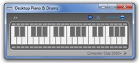 Desktop Piano and Drums v2011.1