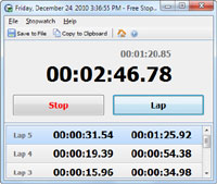 Free Stopwatch 2.7