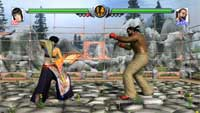 Virtua Fighter 5 Screensaver (PS3) 1.1
