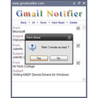 Gmail Notifier 1.0.0.87