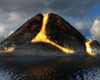 Active Volcano 3D Screensaver 1.0