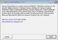 Remove Fake Antivirus 1.89