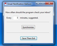 Email Notification Balloon 1.0