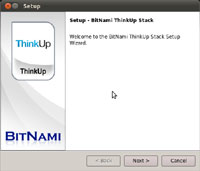 BitNami ThinkUp Stack 1.0.8.1-0