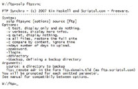 PHP FTP Synchronizer 1.1