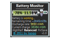 Battery Monitor 4.8
