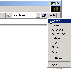 Search Toolbar for Internet Explorer v0.4