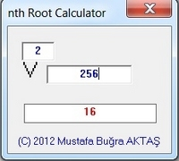 nth Root Calculator 1.0.0