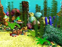 Free 3D Aquarium Screensaver 1.0