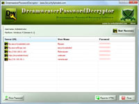 Dreamweaver Password Decryptor 1.0