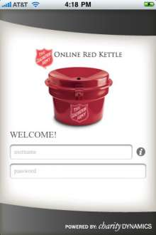 Online Red Kettle App