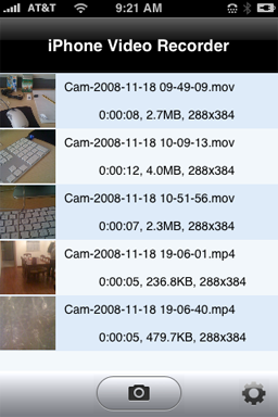 iPhone Video Recorder 1.2.0