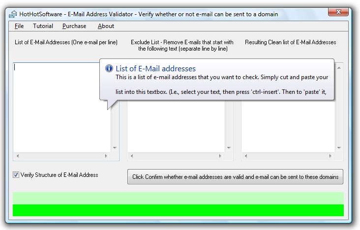 E-Mail Validator - check and verify if an e-mail address exists
