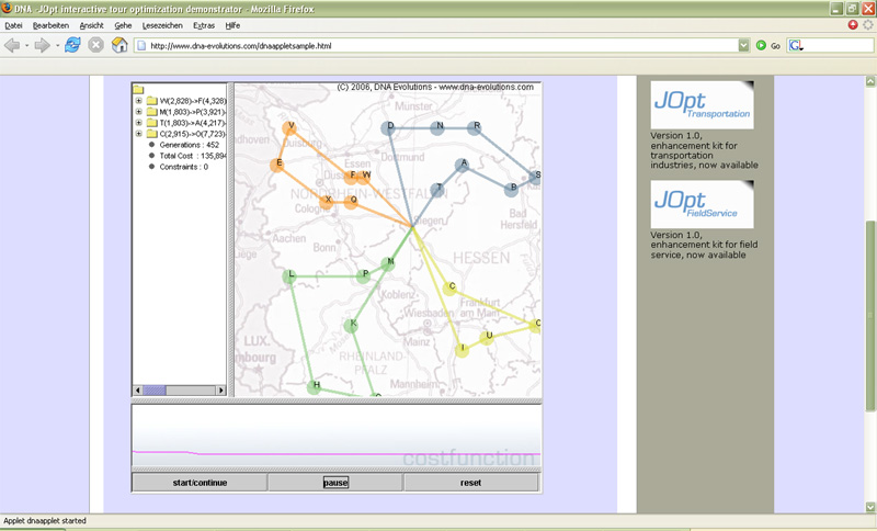 JOpt.SDK - vehicle routing library 2.3.8