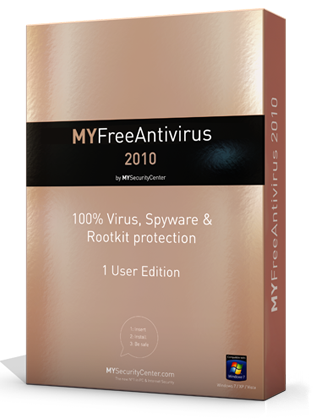 MYFreeAntivirus Best FREE Antivirus, incl. FREE support! 2010