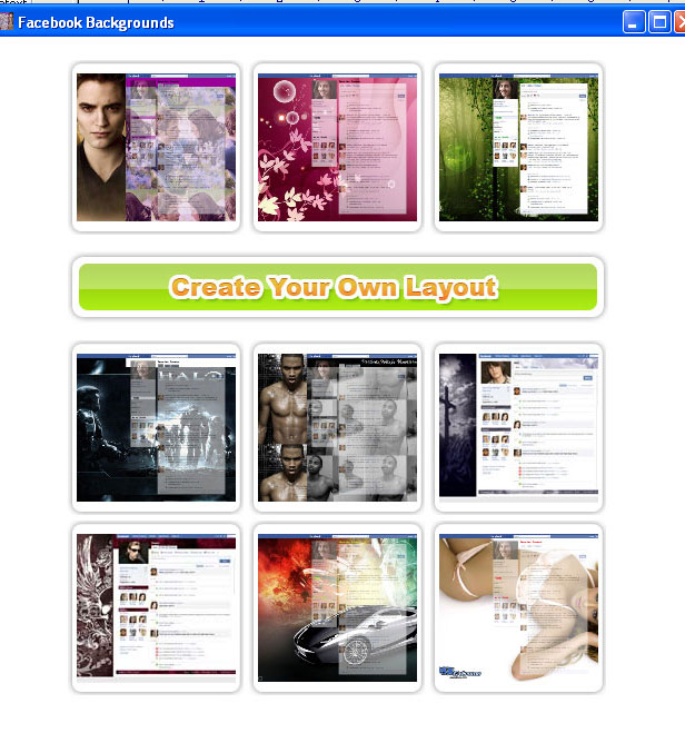 Facebook Layouts For Free No Download FBLayoutsFree v.1.0 1.0