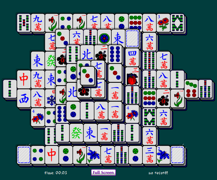 free mahjong solitaire online