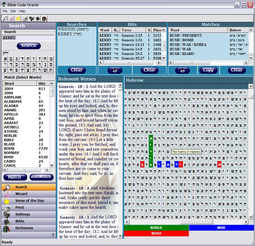 free bible code software download