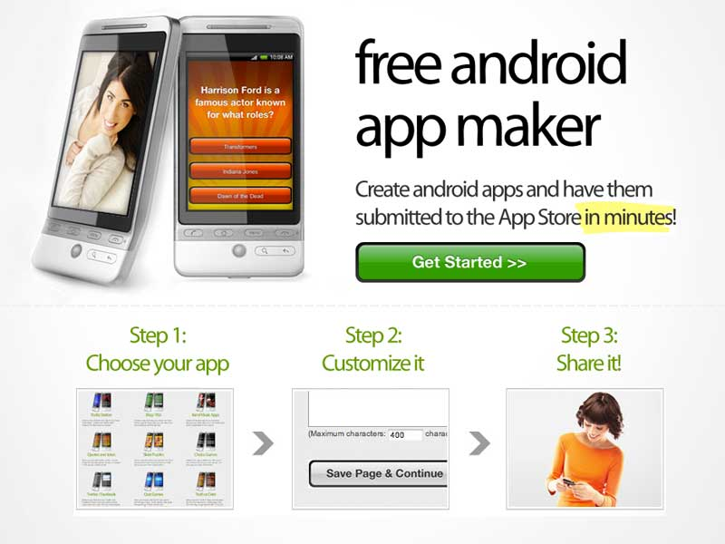 Android apps creator free download