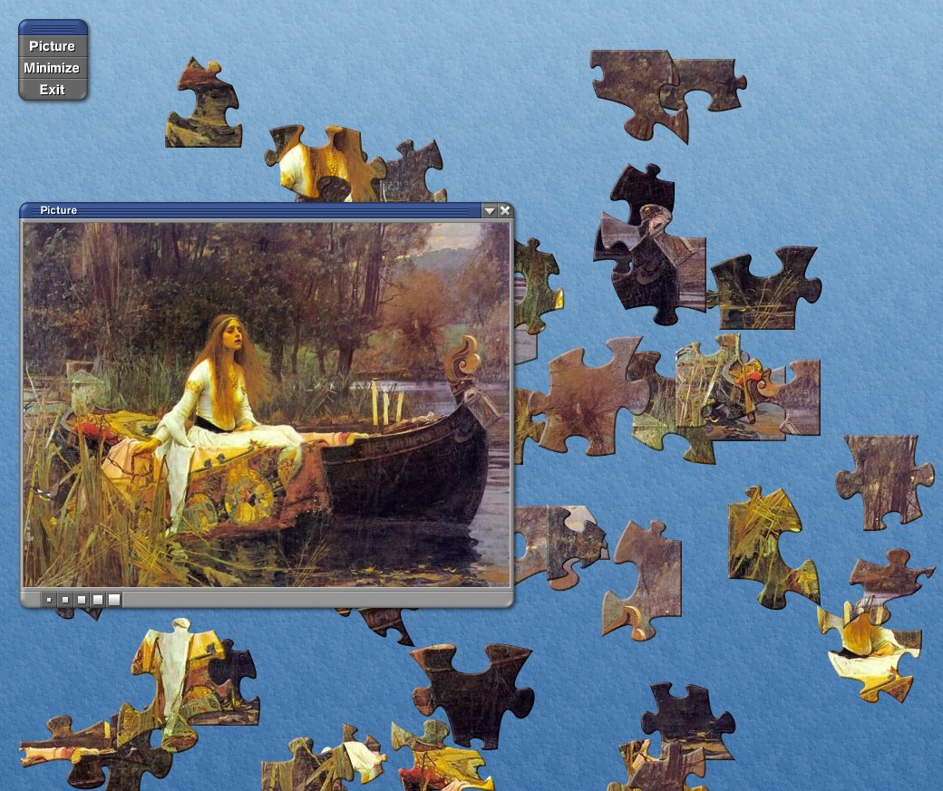 Description of Country Road Jigsaw Puzzle 1.0