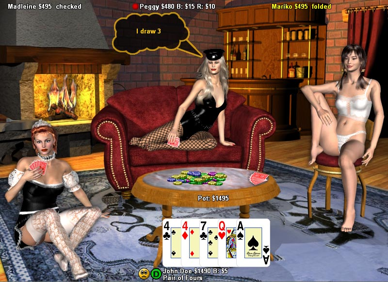 free online strip poker game