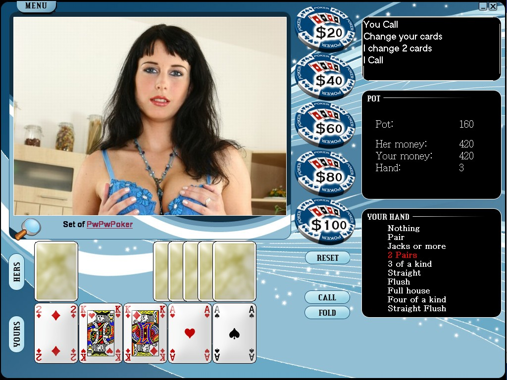 Screens Zimmer 2 angezeig: strip poker full game