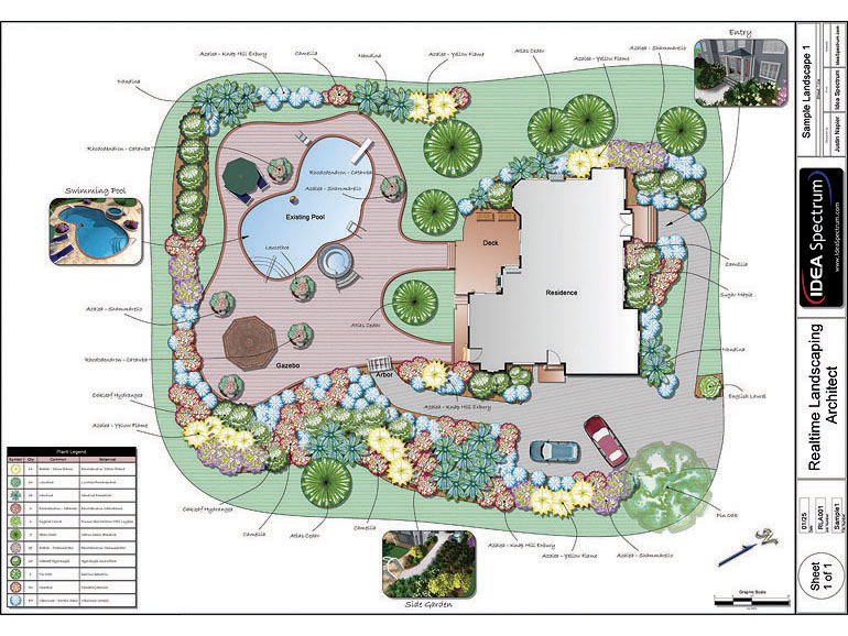 Landscape Design Plan Software 770 x 578