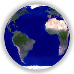 Free Looping Background - Spinning Earth.