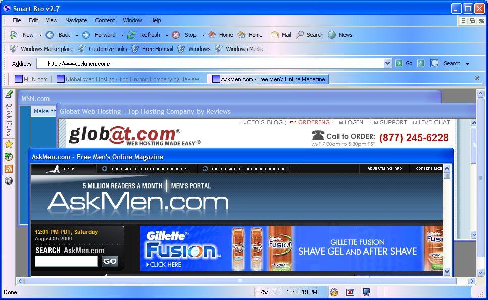 fastest internet browser for vista