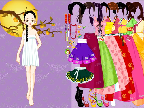 Game Chic Spring Fashion Dress Up