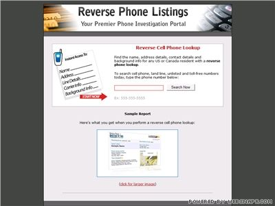 Cell phone lookup free results 2014