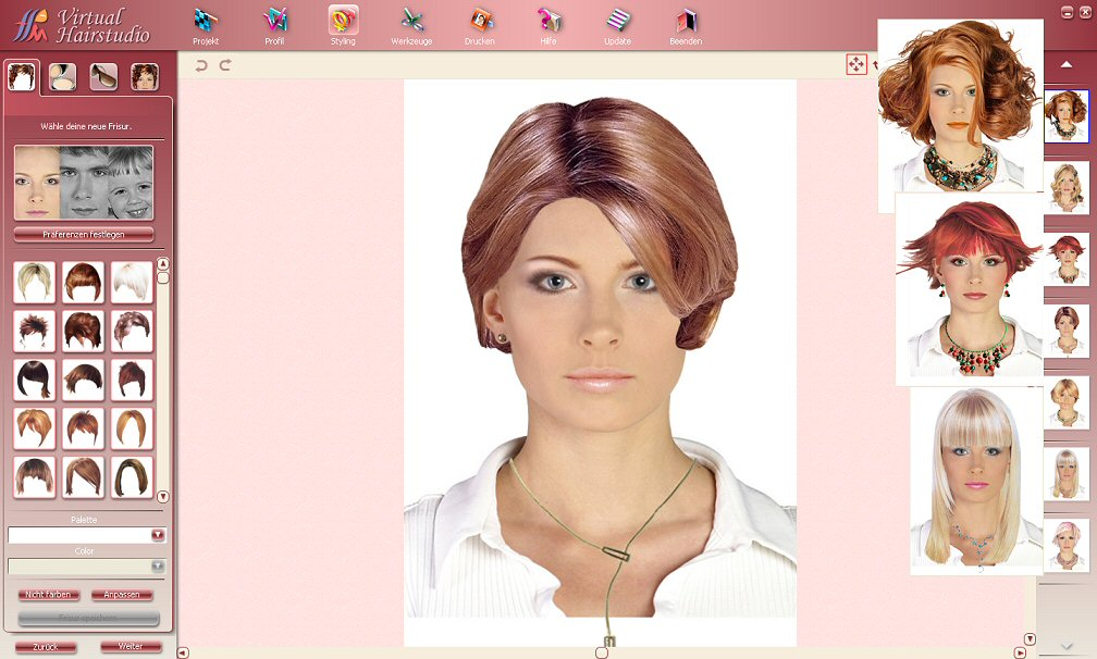Miraculous Free Hairstyle Virtual Makeover Fun Crafts For The Girls Short Hairstyles Gunalazisus