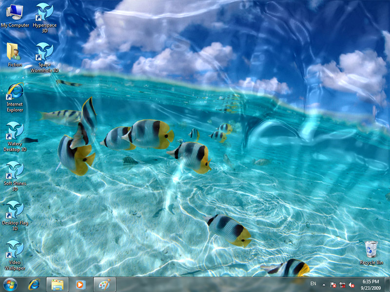 User reviews of animated wallpaper watery desktop 3d 3 99